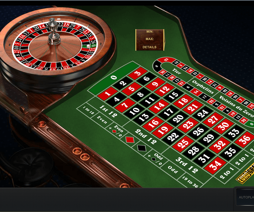 A game of NewAR Roulette at Eurogrand casino