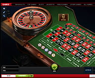 Preview of a game of Roulette Pro played on Ladbrokes website