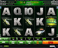Preview of Hulk slot with 50 lines played at Winner casino