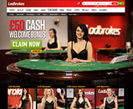 Preview of the live dealer games available in Ladbrokes casino