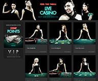 Preview of your choice of live dealers at bet 365