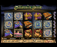 Preview of the especially attractive Millionaire Genie slot at 888 casino