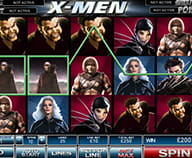 Preview of X-Men: one of the favourite slot games by Playtech at Eurogrand